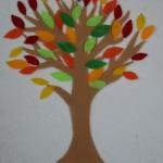 Autumn Colors Felt Tree Activity